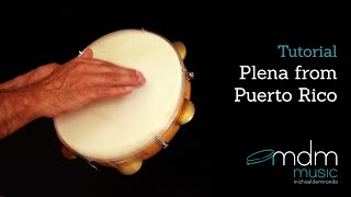 Plena from Puerto Rico, free lesson by Michael de Miranda