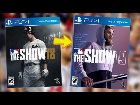 MLB THE SHOW 19 COVER ATHLETE REVEAL: BRYCE HARPER! PRE ORDER BONUSES?