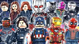LEGO Marvel : Captain America: Civil War Minifigures - Showcase