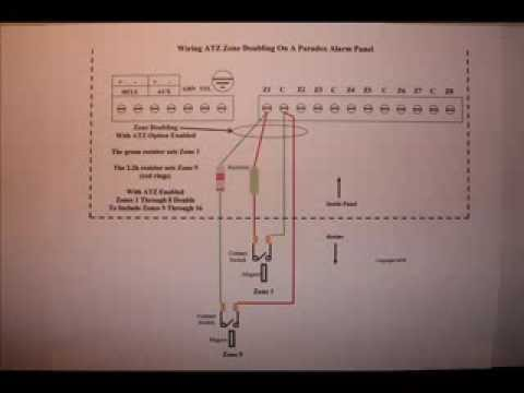 Paradox Alarm Panel Wiring ATZ Zone Doubling Using