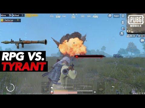 RPG-7 VS TYRANT! | PUBG Mobile