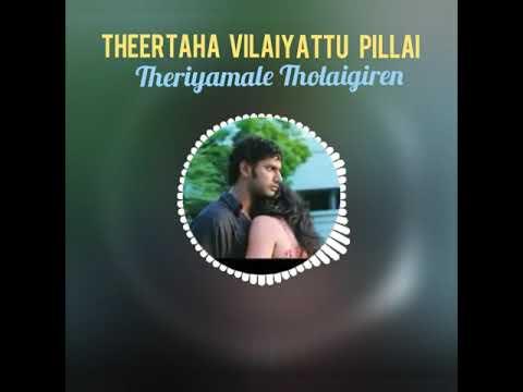 Whats app status | theriyamale tholaigiren song | love status