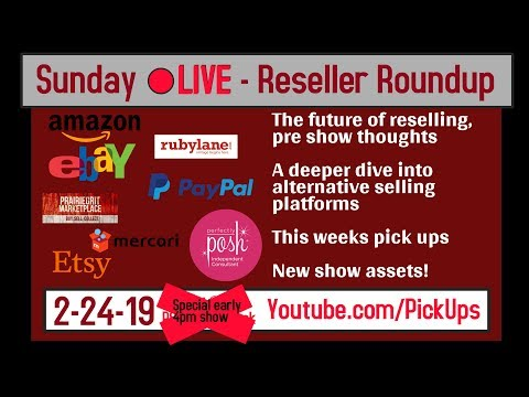 Sunday Reseller Roundup for 2-24-2019 The future of reselling, Seller news, Swap meet finds