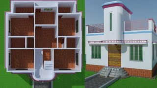 32 X 34 beautiful houses design