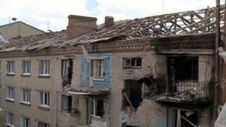 УЖАС! СМОТРЕТЬ ВСЕМ! Бои на Украине  Десятки убитых Украина, Луганск, Славянск