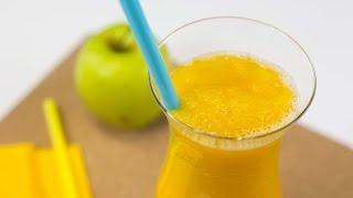 как приготовить желтый коктейль из папайи и яблока, который поможет контролировать тревожность