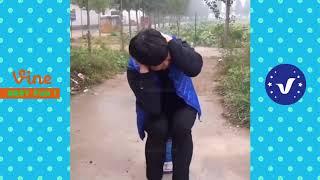 смешные видео над людьми  - смешные клипы Китай # 80