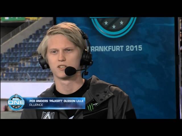 Pajkatt Maelk impression at ESL One Frankfurt