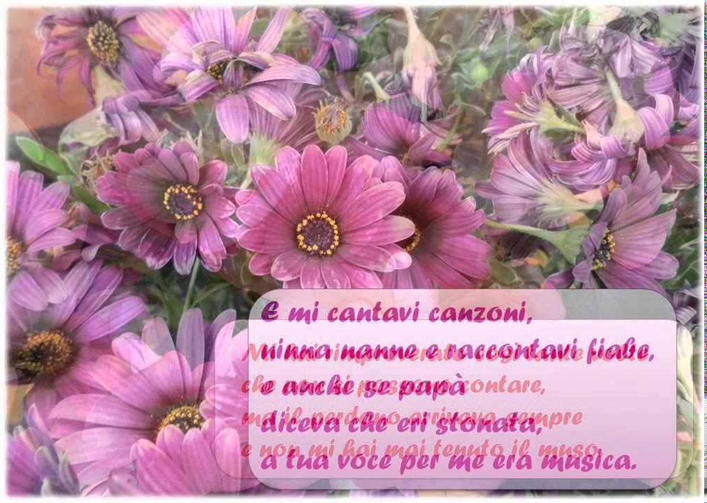 Festa Della Mamma Poesia Per La Mamma Youtube