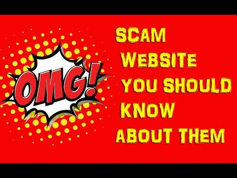 OMG!!! SCAM WEBSITE YOU SHOULD KNOW ABOUT THEM WITH PROOF
