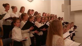 Cuulas - Joulukonsertti 2016 HAAPAVESI Finnish Christmas Consert with girl's choir Satakielet