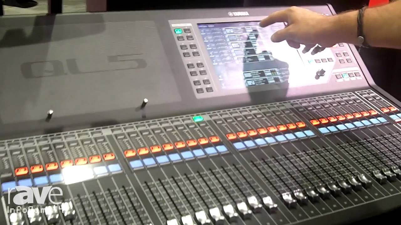 Yamaha Ql5 Digital Audio Mixer : infocomm 2014 yamaha introduces its ql5 32 in 16 out dante based digital mixer youtube ~ Hamham.info Haus und Dekorationen