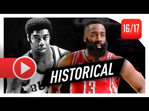 James Harden EPIC Triple-Double Highlights vs Sixers (2017.01.27) - 51 Pts, 13 Ast, 13 Reb!