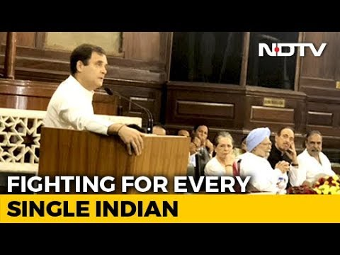 """""""Will Fight BJP Every Day"""": Rahul Gandhi At Parliamentary Party Meet"""