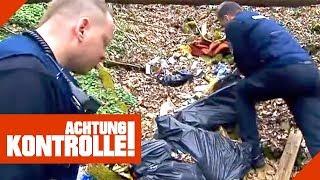 Wahnsinn! Ordnungsamt findet illegale Müllkippe! Finden Sie den Täter? | Achtung Kontrolle