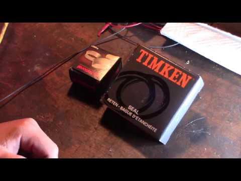 Timken bearing and seals now made in China Cheap Chinese junk no more USA