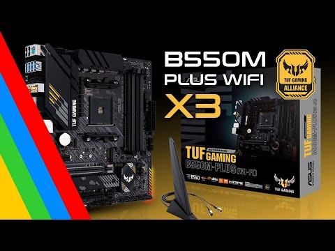 Download Motherboards ASUS TUF Gaming B550M Plus WIFI  / B550M Plus / B550 Plus