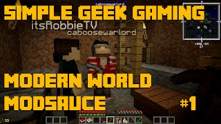 Modern World Modsauce SMP, Episode 1: How Many Times Did We Die?