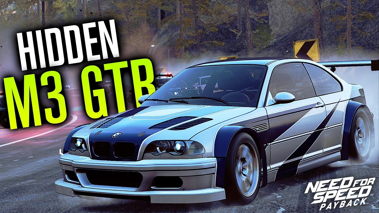 hidden bmw m3 gtr location need for speed payback youtube
