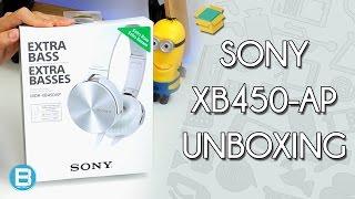 Baixar FONE SONY MDR-XB450-AP - UNBOXING E PRIMEIRAS IMPRESSÕES