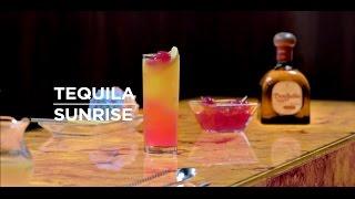 Como preparar Tequila Sunrise.