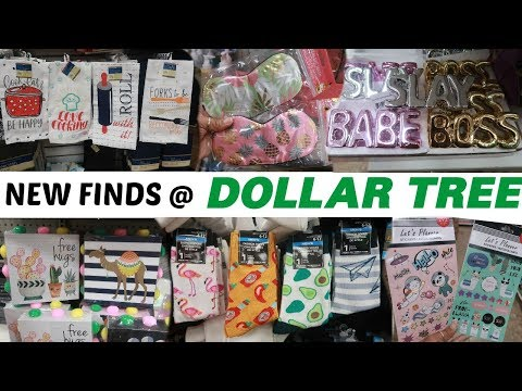 DOLLAR TREE * NEW NEW FINDS!!!!! COME WITH ME
