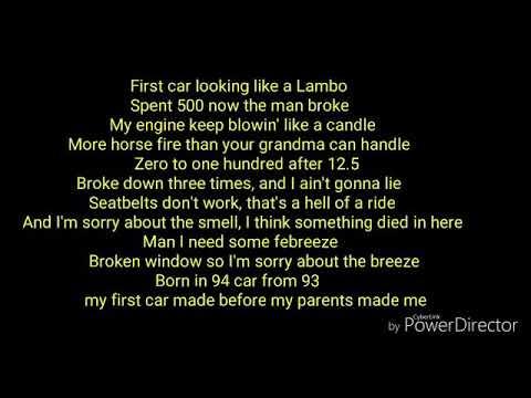 G.O.A.T FIRST CAR - CONOR AND JACK MAYNARD ( FULL LYRICS VIDEO )