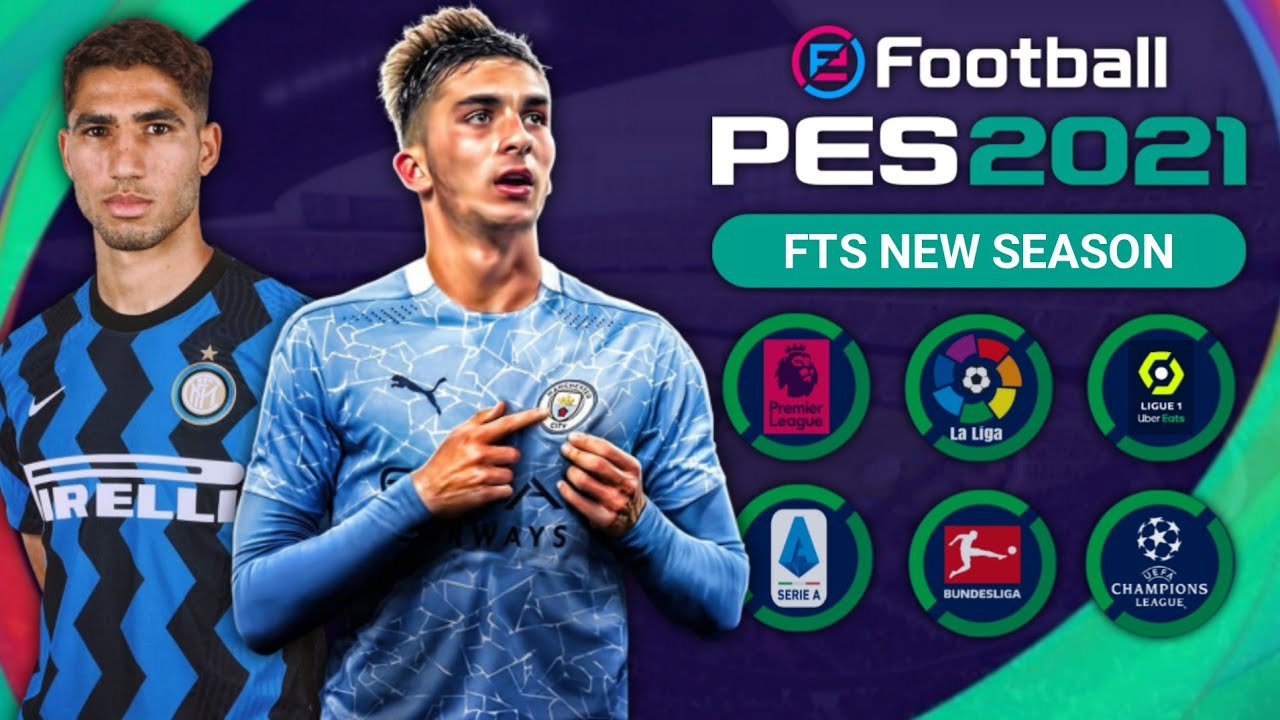 FTS SUPERMOD PES 2021 [300MB] New Update Kits & Latest Transfers 20/21