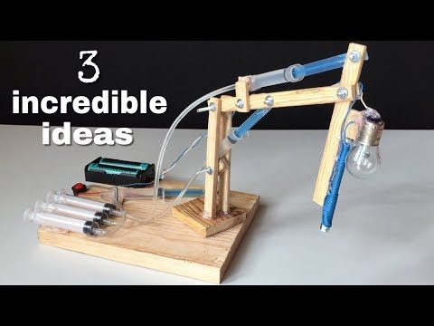 3 incredible ideas and Awesome Homemade inventions thumbnail