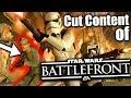 Cut Content of Star Wars: Battlefront - Maps & Classes - CCSWBF#1