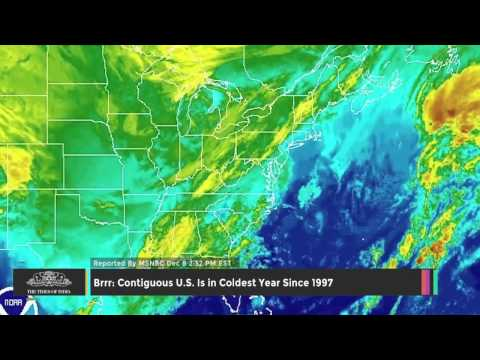 Contiguous U.S. Is in Coldest Year Since 1997 - TOI