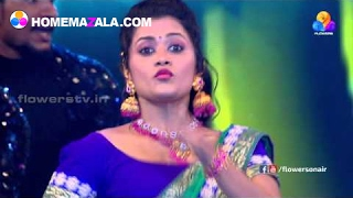 NIDHI PARVATHI DINI & AISWARYA DANCE PERFOMANCES | Flowers TV Awards