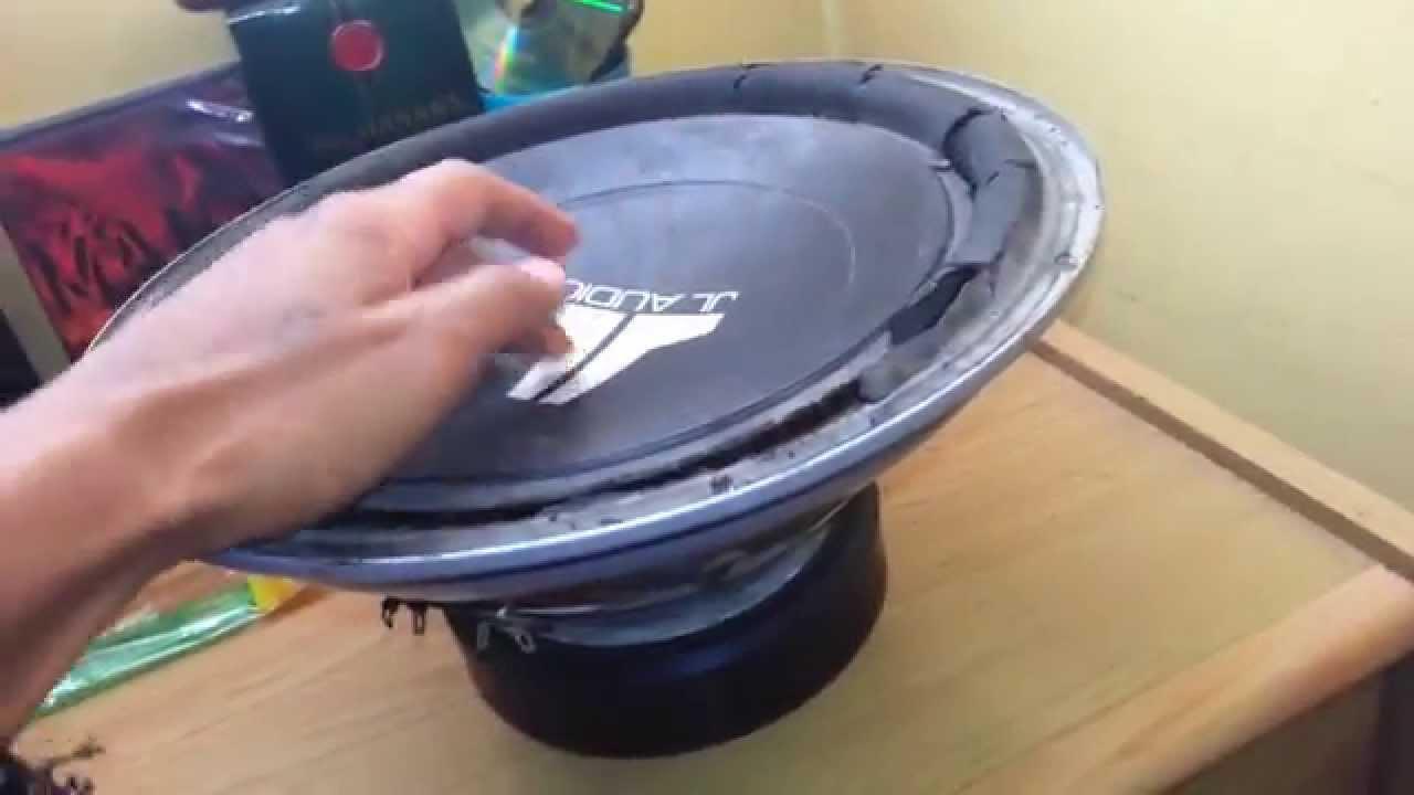 Como reparar una bocina cambiar la suspensi n youtube - Como reparar una vitroceramica ...