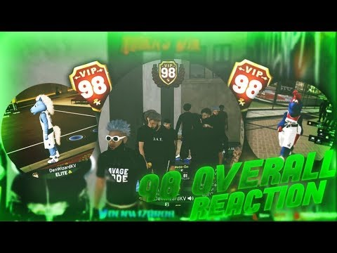 NBA 2K19 - Live Reaction To Hitting 98 Overall Getting Mascots!!