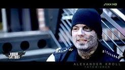 Horror Tattoos Tätowierer Alexander Kroll