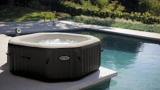 https://www.Johan-Laurens.com - Intex pureSpa Octagon Jet & bubble massage whirlpool.