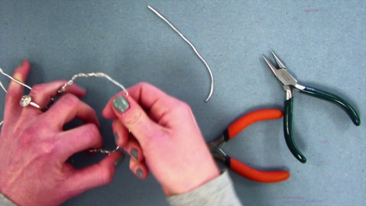 Wire Sculpture Armature Video - YouTube