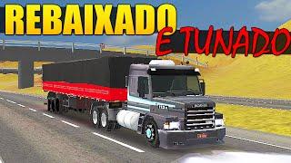Grand Truck Simulator - Rebaixando e Tunando Scania 113H