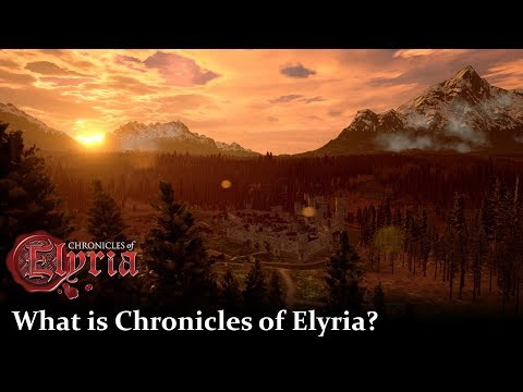 What is Chronicles of Elyria? | Pre-Alpha Progress Update