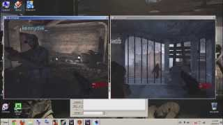 How to play Call of Duty world at war splitscreen on one PC *LOCAL* COD WAW 2015
