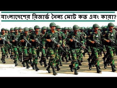 বাংলাদেশের এক্টিভ ও রিজার্ভ সৈন্য কত এবং তারা কারা? Bangladesh Army Personnel reserve force