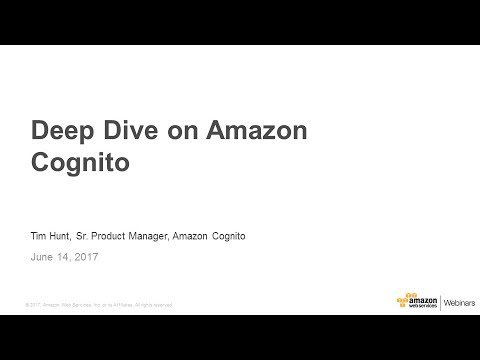 Amazon Cognito Public Beta: Built-in UI for User Sign-up/in and SAML  Federation