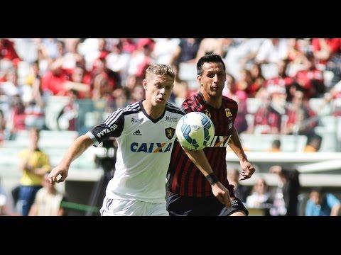 Campeonato Brasileiro Série A 2015 - Melhores Momentos - Atlético-PR 1x1 Sport