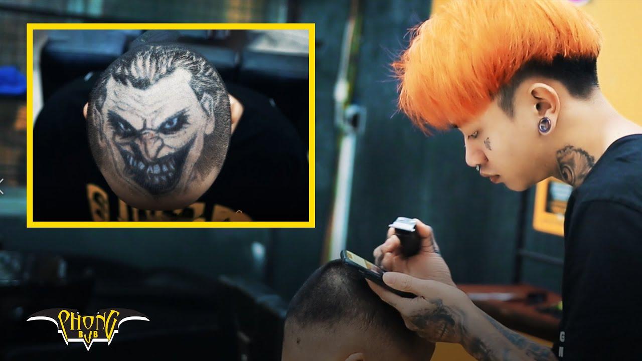 Đỉnh Cao Tatoo Hair Siêu Hề Joker 2020 | Tóc Nam Đẹp Phong BvB
