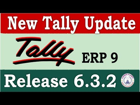 Tally ERP 9 Release 632 Tally UpdateDownload and Install Latest Tally Version for GST
