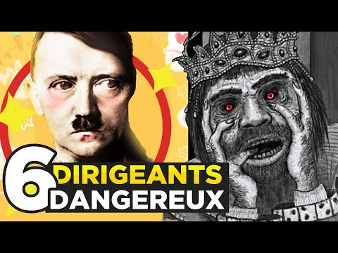 6 DANGEROUS LEADERS in  HISTORY