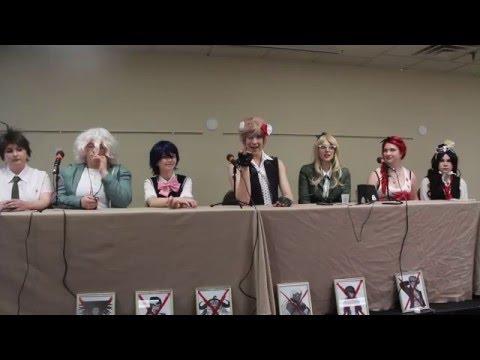 Super Detour Level Despair: Danganronpa Panel @ Anime Detour 2016 streaming vf