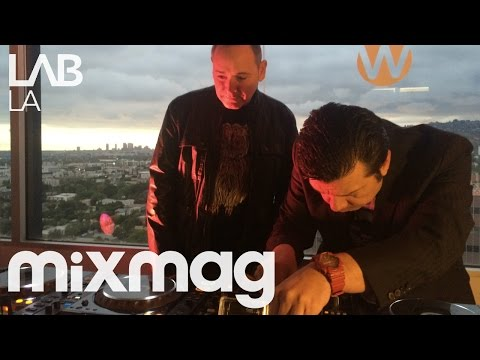 THE CRYSTAL METHOD breakbeat electronica DJ set in The Lab LA