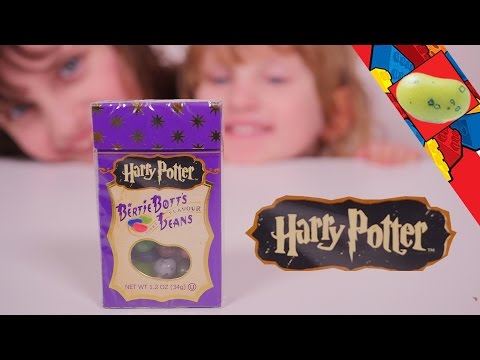 [CHALLENGE] Harry Potter Challenge à 3 ans, un jeu d'enfant - Harry Potter Bertie Botts Challenge