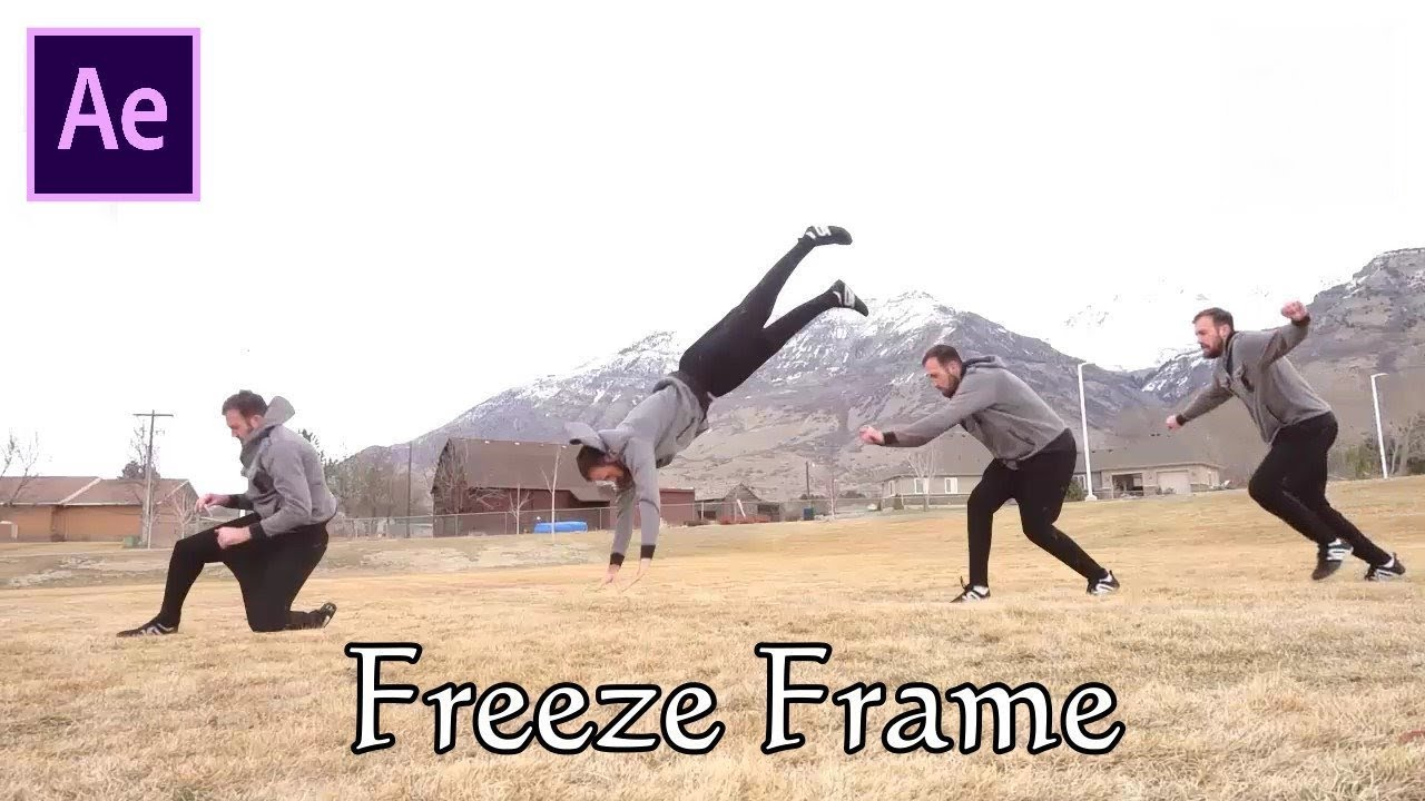 After Effects Tutorial: Freeze Frame Effects || AE Tutorials - YouTube